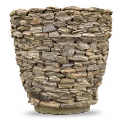 Donica ogrodowa zewnętrzna z kamienia naturalnego Jagna Mała